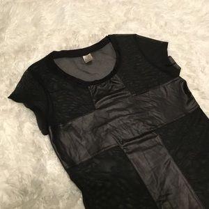 Cross Mesh Shirt